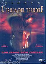 Pinata L'isola del terrore (2002) DVD NUOVO SIGILLATO David & Scott Hillenbrand