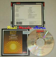 CD BIZET Carmen Arlesiana suites 1 2 1990 grandi musicisti FREQUENZ lp mc dvd
