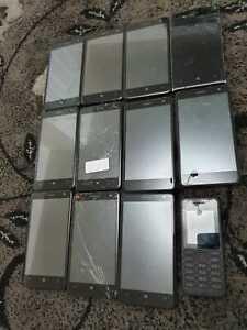 Job lot of 12 devices: Nokia Mix Joblot Bulk Faulty 034