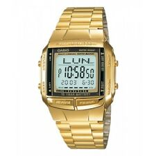 Casio DB-360G-9A 30 Page Databank Digital Mens Watch 13 Languages DB-360 New