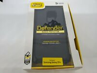 OtterBox Defender Samsung Galaxy S9+ Plus Rugged Case + Belt Clip -  Black