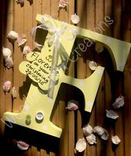LARGE Personalised Freestanding Wooden Letters
