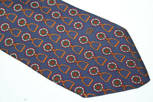 GUCCI Silk tie Made in Italy F16758