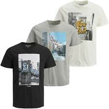Jack & Jones Herren T-Shirt Jormorning Tee kurzarm Sport Clubwear
