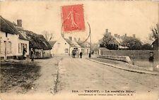 CPA Tricot - La route de Mery (259656)