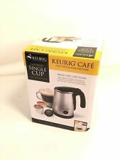 Keurig Cafe One Touch Milk Frother Discont Gourmet Single Cup Brewing System NEW