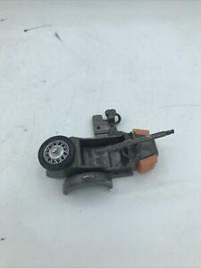 Vintage Britains Ltd WWII #9681 German BMW Motorcycle Sidecar Toy For Parts