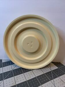 Sunbeam Mixmaster Mixer Ivory Yellow Bowl Turntable  038-092220 Replacement