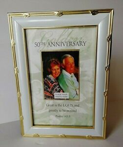 Photo Album 50th Wedding Anniversary Memories Lawson Falle  Holds 70 pictures