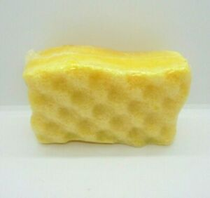 SOAP INFUSED FILLED SPONGE - STRONG SCENT - SWEET VANILLA CREAM