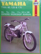 Haynes Manual 0464 - Yamaha TY50/TY80/TY125/TY175 workshop, service, repair