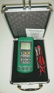 MS7221 Volt/mA Voltage Loop Calibrator with Case & Test Leads