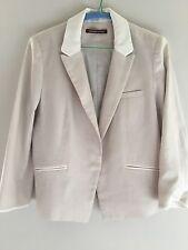 COMPTOIR DES COTONNIERS pâle Tux lin veste taille 42 porté une fois