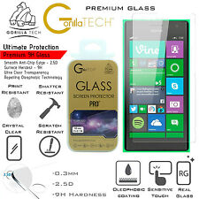 Twin Pack Gorilla Lightweight Tempered Glass LCD Screen Guard For Lumia 950 Xl