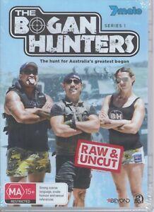 THE BOGAN HUNTERS Series 1 Raw & Uncut (2 x DVD) NEW & SEALED Paul Fenech