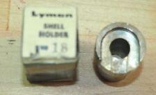 "Lyman ""J"" Shell Holder #18-(NOS) IB"