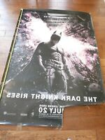 """""""THE DARK KNIGHT RISES - Style A - 2012"""" 4x6 FT BUS SHELTER DOUBLE SIDED"""