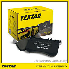 Fits Fiat Sedici 2.0 D Multijet AWD Genuine OE Textar Rear Disc Brake Pads Set