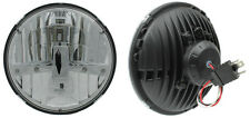 """NEW! Two Rostra 7"""" Round LED Hi/Lo Headlamps H6024 DOT For Vintage/Classic Cars"""