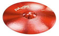 PAISTE couleur son 900 Rouge 20 Crash Cymbale (NEUF)