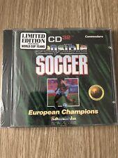 SENSIBLE SOCCER AMIGA CD32 CD 32 LIMITED EDITION NEUF BLISTER NEW SEALED RARE