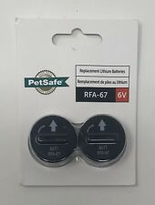 New listing PetSafe Replacement 6 Volt Batteries Package of 2 Rfa-67D-11