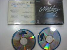 NOSTALGIA 2. 2CD SPANISH MARISOL, NINO BRAVO, FALCONS... 1991