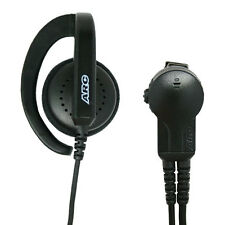 ARC G32002 Earhook Headset Earpiece Lapel Mic for Kenwood TK and NX 2-Pin Radios