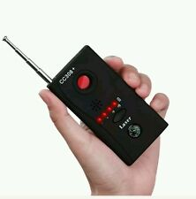 NEW Anti-Spy Signal RF Bug Detector Hidden Camera Lens GSM Device Tracer Finder