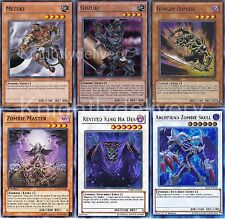 Yugioh Zombie Complete Deck - Revived King Ha Des - Plaguespreader - 42 Cards