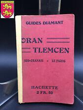 Guide Diamant ORAN TLEMCEN ALGÉRIE 1922