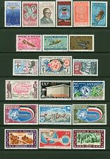 Burkina Faso/Upper Volta: 31 Stamps #91/C104 - 4Lh+27Nh: Fish,Sports - Lot#8/18
