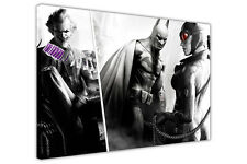 BATMAN JOKER CATWOMAN CANVAS WALL ART PICTURES HOME DECORATION CHILDRENS POSTERS