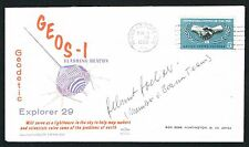 Helmut Holzer signed autograph auto Postal Cover Von Braun Rocket Team
