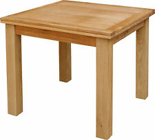 Oak Square Kitchen & Dining Tables without Assembly Required