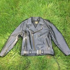 Vanson Highwayman Leather Jacket