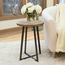 """FirsTime & Co ~ Miles Rustic Farmhouse Wood Accent End Table 22"""" x 16"""""""