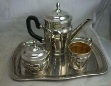 alter Blech Kaffeekern Art Deco