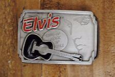 VTG Elvis King of Rock & Roll Belt Buckle Elvis Presley Enterprises limited
