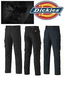 Dickies TR2009 Cargo Flex Work Trousers Black or Navy 28-40 Waist Workwear Pants