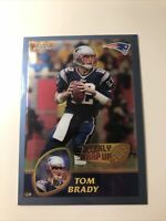 TOM BRADY 2003 TOPPS CHROME WEEKLY WRAP UP 2002 #148 PATRIOTS Buccaneers Rare