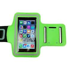 Green Sports Armband Running Gym Exercise Case for Apple iPhone SE 5S 5C 5 4S