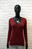 Maglione TOMMY HILFIGER Felpa Donna Taglia XS Pullover Sweater Cardigan Maglia