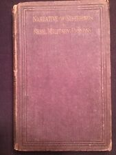 Narrative Of Sufferings In Rebel Military Prisons ~ 1864 Hardcover ~ Rare!