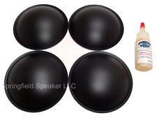 """4 Piece 4.5"""" Poly Dome Speaker / Subwoofer Dust Cap Kit - 4DCPL45g"""