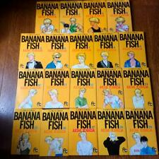 BANANA FISH Akimi Yoshida vol. 1-19 Complete set Comics Manga