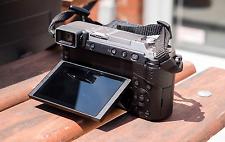 Panasonic Lumix DMC-GX85 Silver 4K Mirrorless Micro 4/3