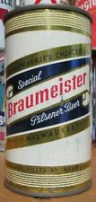 1950's Flat Top Beer Can Braumeister Pilsner Beer