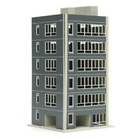 1:100 Outland Models Railway Colored Modern Residential City Building N