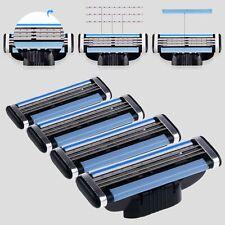 For Gillette MACH3 1 Packs of 4 Razors Shaving Blades Trimmer Refills Cartridges